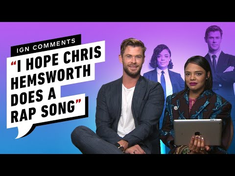 Chris Hemsworth and Tessa Thompson Respond to IGN Comments
