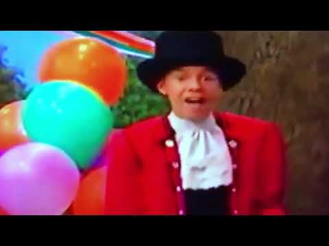 My You Tube friend's favorite scene from Barney the exercise circus
