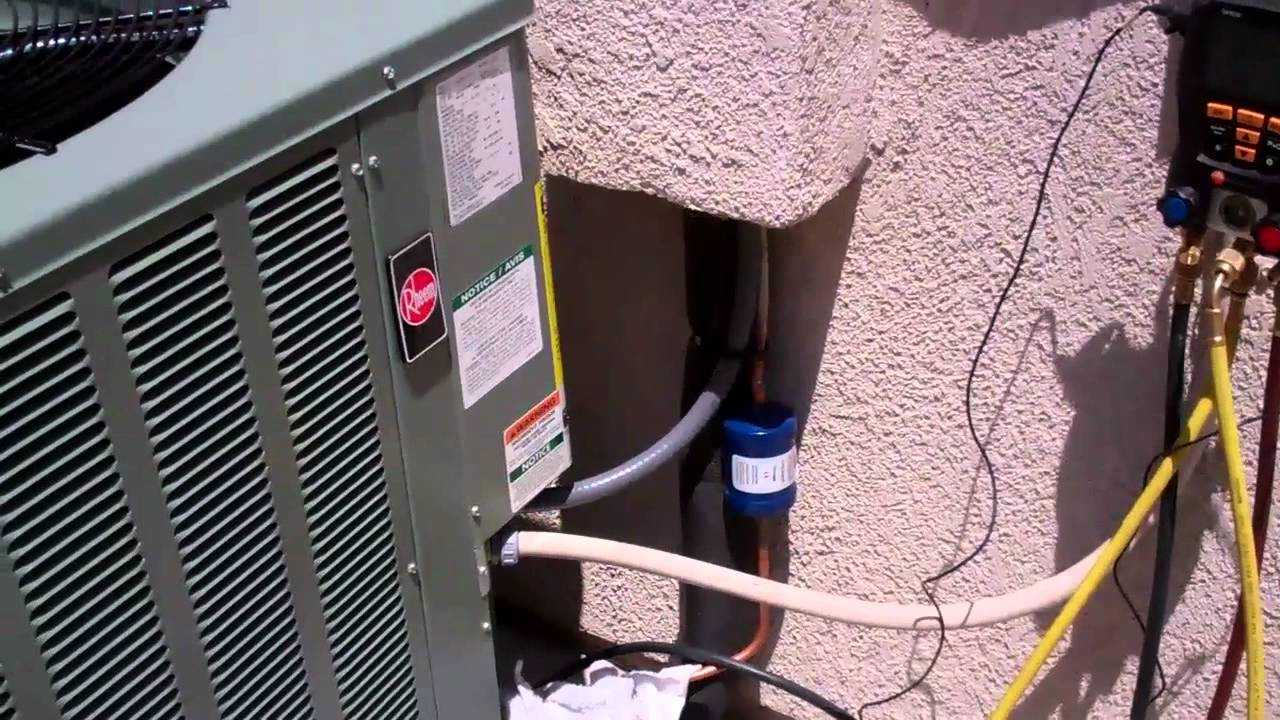 residential condensing unit wiring diagram [ 1280 x 720 Pixel ]