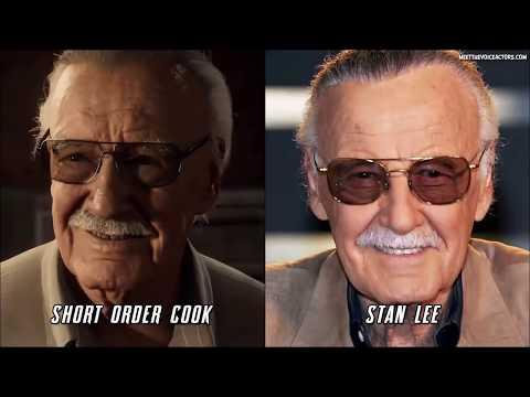 Marvel's SpiderMan Characters Voice Actors