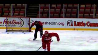 Pavel Datsyuk -  a week away from his return