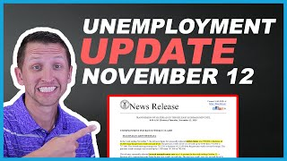 Unemployment update for november 12 2020. the rate dropped again to 4.6% week ending october 31st.the news is positive with decreas...
