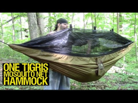 One Tigris Mosquito Hammock (Budget Friendly)- Mantis Outdoors