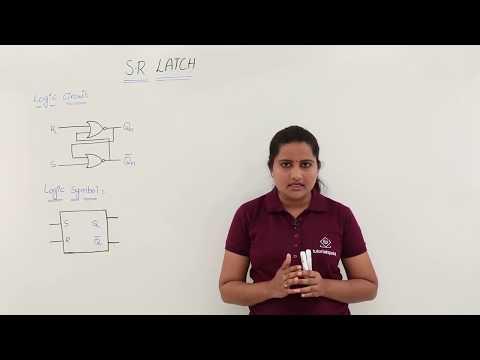 S-R Latch using NOR gates