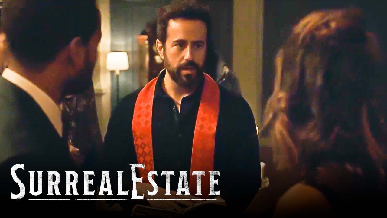 Download Father Phil Officiates a Wedding To Fight an Angry Spirit | SurrealEstate Highlights (S1E9) | SYFY