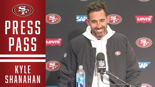 Kyle Shanahan: 'Number 1 Seed Feels Good' | 49ers