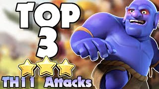 Top 3 BEST TH11 Attack Strategies in Clash of Clans