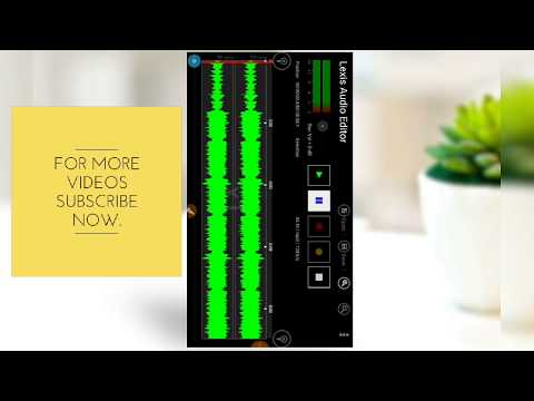 How To Edit Audio Voice Professionally On Mobile Android / Best audio  Editing App 2019