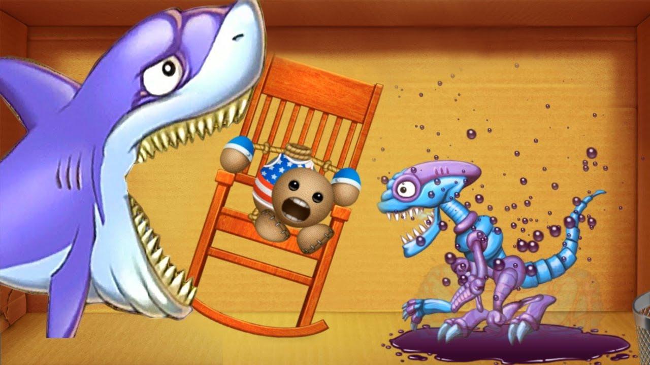 Shark And Aliens Vs Buddy USA |Gameplay Walkthrough |PewGame 2019 #kickthebuddy