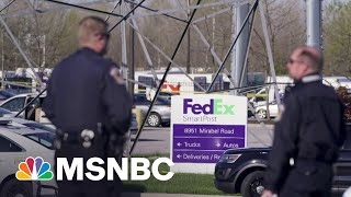 'Gap In Information' About Indianapolis Shooting Suspect | MTP Daily | MSNBC