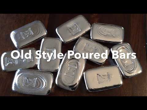 Bunker Bullion Sale: 10 Old Style Poured Bars