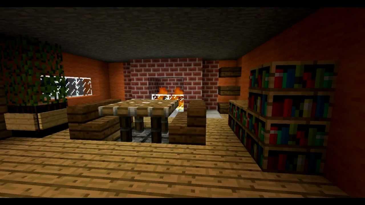 Modernes Wohnzimmer Mit Redstone