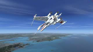 Star Wars no microsoft flight simulator x deluxe edition