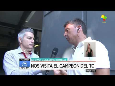 Los secretos del auto campeón de TC: Guillermo Ortelli en los estudios de América