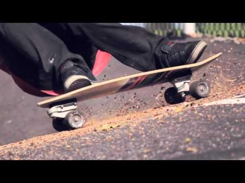 As melhores manobras de Carver Skateboards