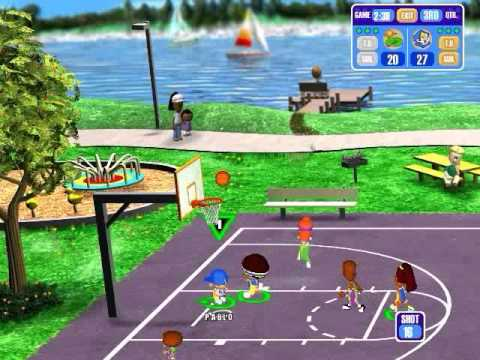 Genial Backyard Basketball Gameplay