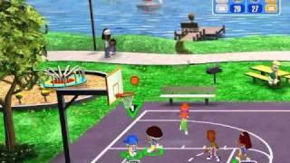 Backyard Basketball Gameplay