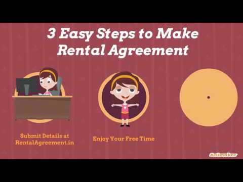 Online Rental Agreement Youtube