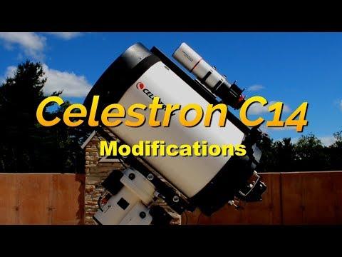 Celestron C14 Modifications