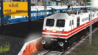 Hazrat Nizamuddin - Bandra Terminus RAJDHANI Exp || Valsad Journey || MSTS  Indian Railways