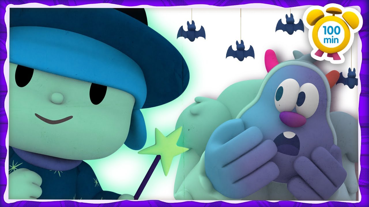 👹POCOYO in ENGLISH -Halloween: Monsters In The Dark 100 min Full Episodes VIDEOS & CARTOONS for KIDS