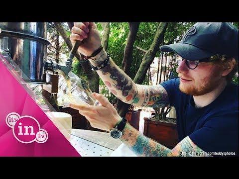 OMG! Ed Sheeran ist schwer verletzt!