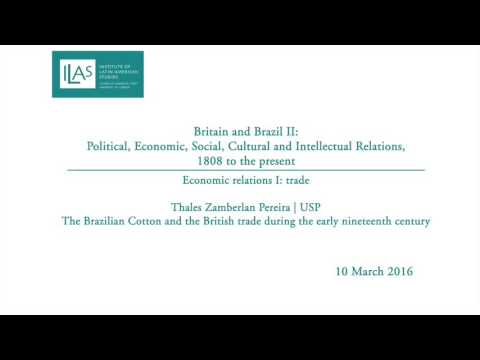 Britain and Brazil II: Economic relations I | trade - Thales Pereira Zamberlan