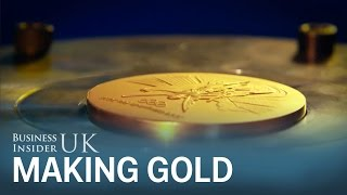 How they make gold medals for the Rio Olympics