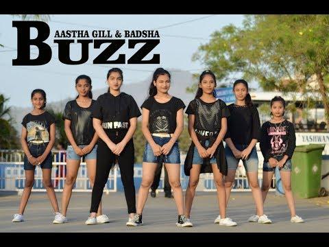 Aastha Gill - Buzz Feat Badshah | Priyank Sharama | choreography | SPINZA DANCE ACADEMY