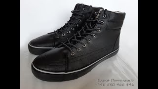 Обзор мужской обуви от #Faberlic_демисезонные высокие кеды Comfort и кроссовки мужские Air
