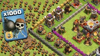 CLASH OF CLANS PRIVATE SERVER - Wall Breakers Attack (Massive Clash Of Clans Gameplay)