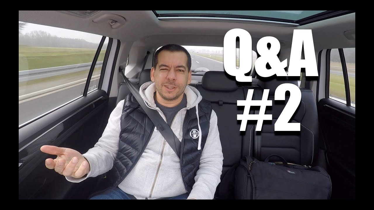 (ENG) Q&A #2 – what's my favourite car brand?