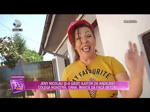Teo Show (24.09.2018) - Jeny Nicolau, de la munca prin curte, la distractie! Partea 3