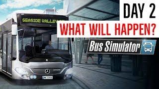 Life in Bus Simulator  Day 2  Bus Simulator  Xbox one  Gameplay