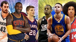 What If The Cleveland Cavaliers and Golden State Warriors Players Were All In Their Prime?