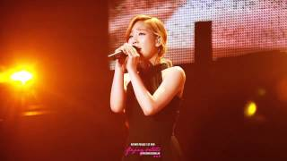Taeyeon SNSD - I Love You (Full Live) @ Athena Concert in Japan