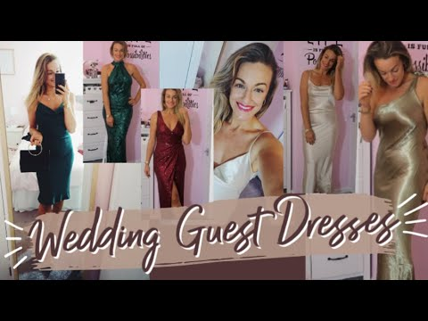 [VIDEO] - Winter Wedding Guest | Christmas Party | New Year's Eve Outfit Idea's | 2019 SILK FRED HAUL 2