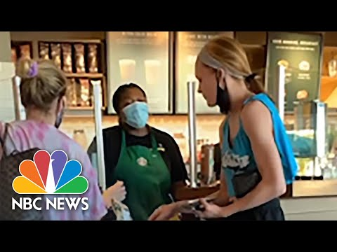 Video shows Customer's Racist Mask Rant After Refusing To Cover Her Face In California Starbucks