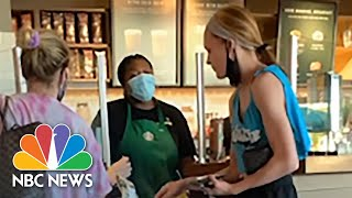 Video shows Customer s Racist Mask Rant After Refusing To Cover Her Face In California Starbucks