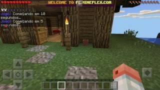 Minecraft build battle festa na piscina e Bob esponja