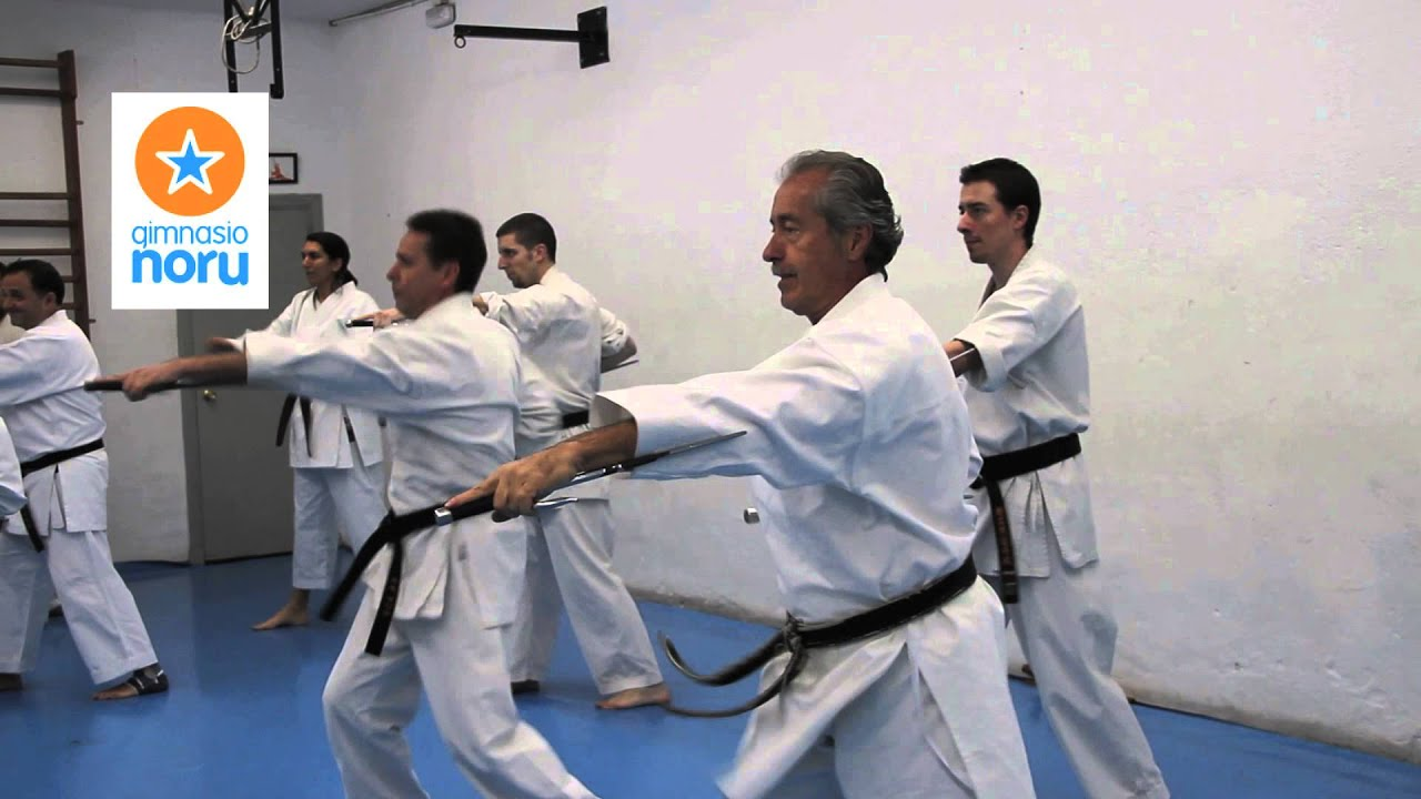 gimnasio noru karate youtube