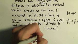 direct variation direct proportion example 1