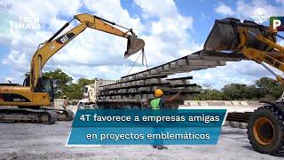 Consorcio chino-francés-mexicano acusa inclinación del gobierno hacia  otras firmas por material rodante de la obra