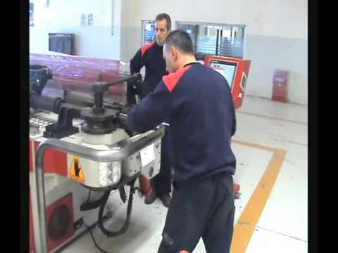 Akyapak ABM76 NC  (4m) Boru Bükme Makinası  Test Video
