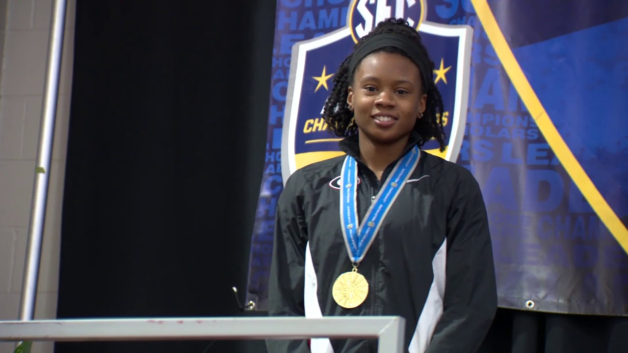 Keturah Orji : Liz Murphey Athlete of the Year | 2018 Student-Athlete Honors Banquet
