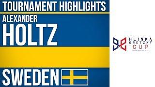 Alexander Holtz | Hlinka Gretzky Cup | Tournament Highlights
