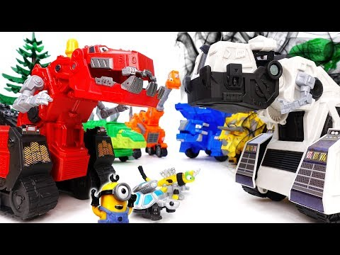 Thumbnail: D-structs is Bullying Everybody~! Go Dinotrux, Let's Teach Him A Lesson - ToyMart TV