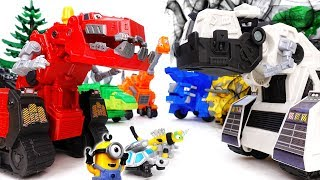 D-structs is Bullying Everybody~! Go Dinotrux, Let
