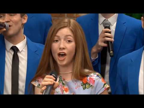 """Lexi Walker & BYU Vocal Point - """"Beauty and the Beast"""" + interview"""