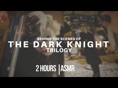 The Dark Knight Trilogy: Behind The Scenes | ASMR [soft-spoken, Page Turning, Batman]